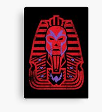 Pharaoh of Magnets Canvas Print