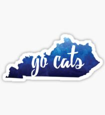 GO CATS! Sticker