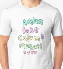 Ashton Luke Calum & Michael  T-Shirt