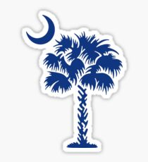 South Carolina Palm Sticker