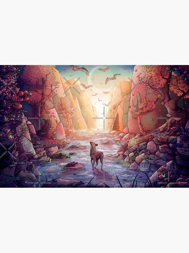 The Narrows by TaylorRoseArt