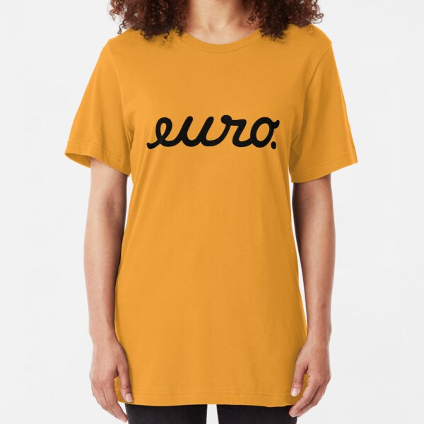 euro (5) Slim Fit T-Shirt