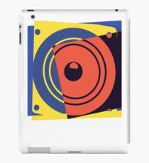 Pop Art Music Speaker iPad Case/Skin