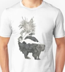 Skunk Painting  T-Shirt