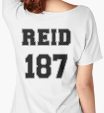 Reid Jersey Design #187 Women's Relaxed Fit T-Shirt