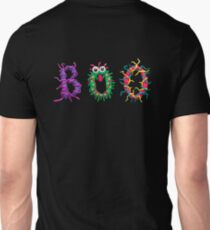 Colorful text Boo T-Shirt