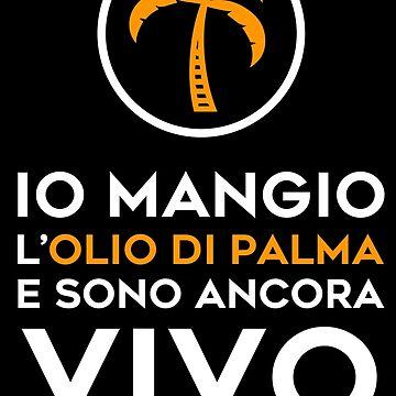Maglietta Olio di Palma by cromarlimo