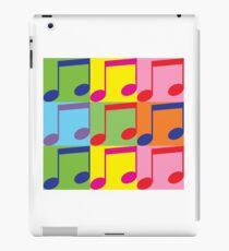Pop Art Music Notes iPad Case/Skin