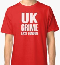 UK grime (white) Classic T-Shirt