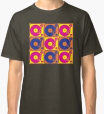 Vinyl Record Turntable Pop Art 3 Classic T-Shirt