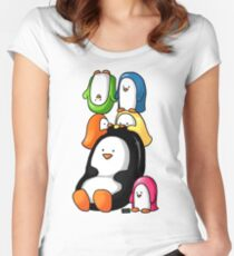 Humphrey and Friends Women's Fitted Scoop T-Shirt