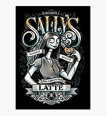 Sallys Pumpkin Spiced Latte Photographic Print