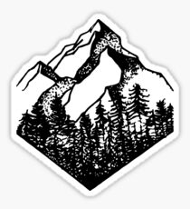Mountain Diamond Sticker