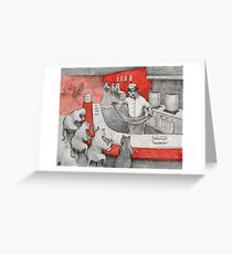 Lamian Meow Greeting Card