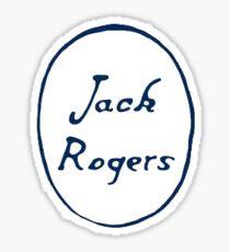 Jack Rogers Sticker