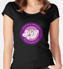 The Stuff Women's Fitted Scoop T-Shirt