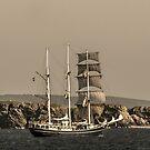 Tall Ship Loch Indaal by humblebeeabroad