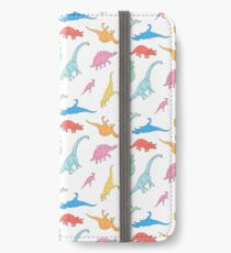 Dino Doodles iPhone Wallet/Case/Skin