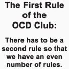 The First Rule of the OCD Club by Chris  Bradshaw