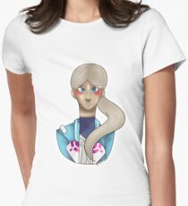 Blanche Pokemon Go  Women's Fitted T-Shirt