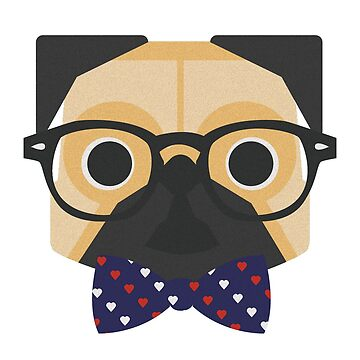 Hipster Dog by andylee21