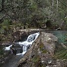 Waterfall  by Mindseyephoto