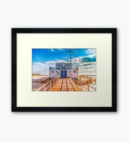 Atlantic City Beach Patrol Framed Print