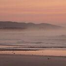 Sunrise and Sea Mist by Mindseyephoto
