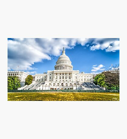 The Capitol Photographic Print
