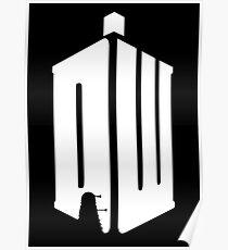 Dalek (white) Poster