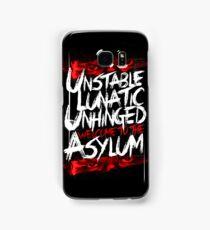 Welcome To The Asylum Samsung Galaxy Case/Skin