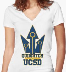 UCSD Magical Sports Swag Women's Fitted V-Neck T-Shirt