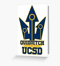 UCSD Magical Sports Swag Greeting Card