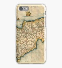 Map Of Cyprus 1759 iPhone Case/Skin