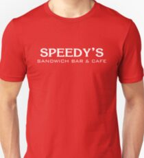 Speedy's Sandwich Bar & Cafe Unisex T-Shirt