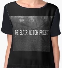 THE BLAIR WITCH PROJECT VHS Women's Chiffon Top
