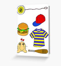 Ness Aesthetic  Greeting Card