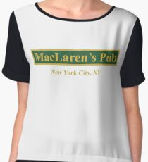 MacLaren's Pub, New York – How I Met Your Mother Women's Chiffon Top