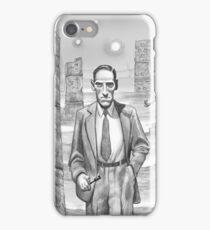 HP Lovecraft - Explorer of Strange Worlds iPhone Case/Skin