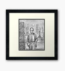 HP Lovecraft - Explorer of Strange Worlds Framed Print