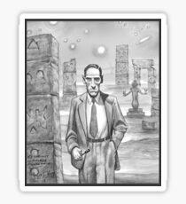 HP Lovecraft - Explorer of Strange Worlds Sticker