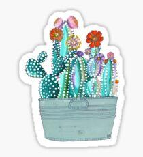 Colored Callous Cacti Sticker