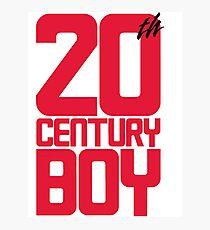 20th Century Boy Photographic Print