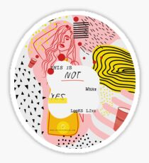 Not What Yes V2 Sticker