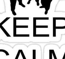 Keep Calm And Protest Sticker