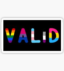 Valid (Rounded) Sticker