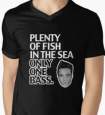 Plenty of Fish in the Sea Only One Bass Men's V-Neck T-Shirt