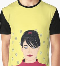 Kathleen Hanna Graphic T-Shirt