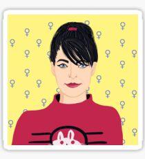 Kathleen Hanna Sticker