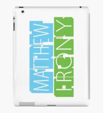 Matthew Fry Irony Arts iPad Case/Skin